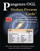 Pangenre OGL Modern Firearm Cards