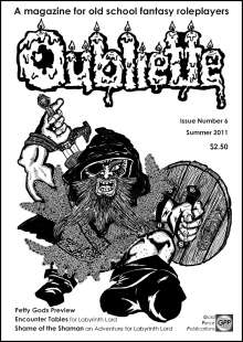 OUBLIETTE Issue 6 on RPGNow.com