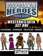 Disposable Heroes Western Statix 1