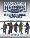 Disposable Heroes: Modern Gangs Token Pack for Fantasy Grounds II