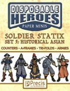 Disposable Heroes Soldier Statix 5: Asians