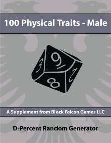 D-Percent - 100 Physical Traits - Male on Bards and Sages RPG Resource