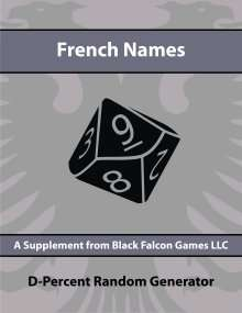 D-Percent - French Names on RPGNow.com