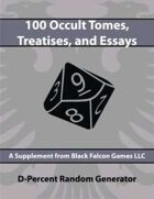D-Percent - 100 Occult Tomes, Treatises, and Essays