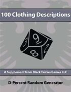 D-Percent - 100 Clothing Descriptions