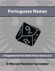 D-Percent - Portuguese Names on RPGNow.com