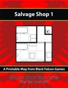 Modern Floor Plans - Salvage Shop 1