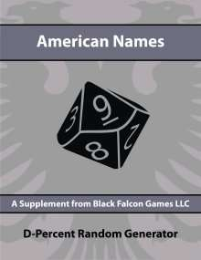 D-Percent - American Names on RPGNow.com