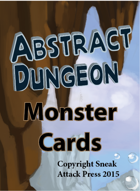 Abstract Dungeon Monster Cards: Humanoids