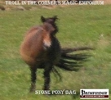 Magic Item: The Stone Pony Bag on DriveThruRPG.com