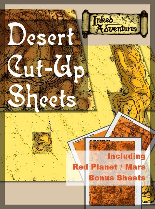 Desert Cut-Up Sheets