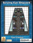 "Type S Seeker Independent Mining Ship ""Free Fall Lady"""