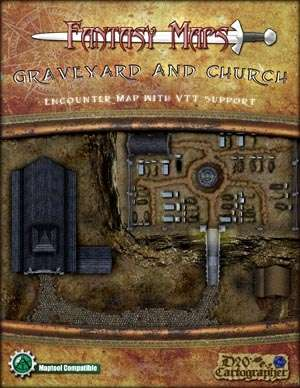 Graveyard and Church Map Pack