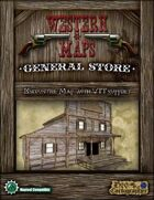 Western Maps: General Store Map Pack