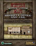 Western Maps: Sheriff's Office and Jail Map Pack