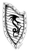 Stock Art Shields: Wyrm