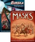 Masks and Eureka: 1,000 NPCs and 501 Plots [BUNDLE]