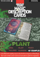 Magic Description Cards: PLANT MAGIC