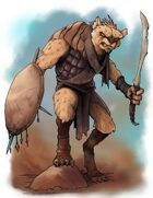 Stock Art: Desert Gnoll