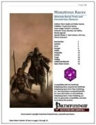 Monstrous Races [PFRPG]