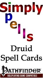 Simply Spells Druid Spell Cards