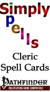 Pathfinder Cleric Spell Cards