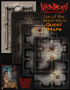 Lair of the Stitch Witch Quest Maps