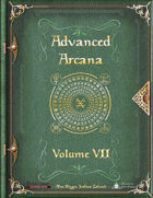 Advanced Arcana Volume VII