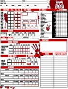 Against the Dead character sheet