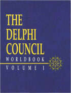 Torg: The Delphi Council Worldbook I