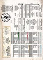 TDE5 Inlay Insert for GM Screen /Cheat sheet