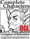[d20] Complete Characters #11 - Livingston of Birkenshor