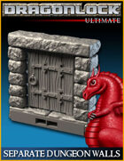 DRAGONLOCK Ultimate: Dungeon Separate Walls
