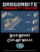 Half-Height Clip-On Walls