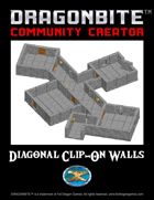 Clip-On Diagonal Walls