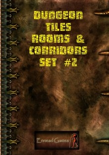 Dungeon Tiles - Rooms & Corridors Set #2 on RPGNow.com