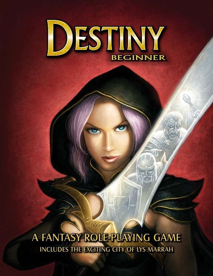 Destiny Beginner - A Fantasy Role-playing Game on DriveThruRPG.com