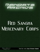 Mandate Archive: Red Sangha Mercenary Corps