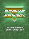 Strike Legion: Skunk Works Data Card Set