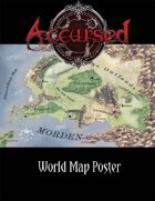 Accursed Game World Map