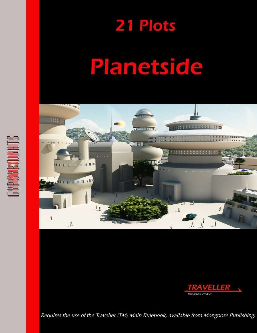 21 Plots: Planetside on RPGNow.com