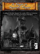 A Night in Seyvoth Manor (DnD 5E)