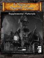 A Night in Seyvoth Manor, Supplemental Materials (DnD 5E)