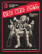 Goodman Games Gen Con 2016 Program Guide