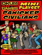 Mini Playset - Panicked Civilians