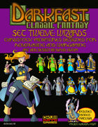 Darkfast Classic Fantasy Set Twelve: Wizards