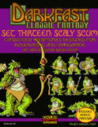 Darkfast Classic Fantasy Set Thirteen: Scaly Scum