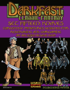 Darkfast Classic Fantasy Set Fifteen: Knaves