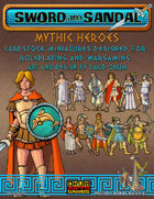 Sword and Sandal: Mythic Heroes Set One