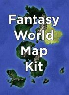 Fantasy World Map Kit